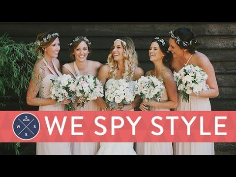 We Spy Weddings: The Ultimate Guide For Brides, Bridesmaids, and Guests!