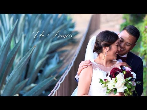 Eda + Francis's Pomona Valley Mining Company Rustic Wedding Trailer
