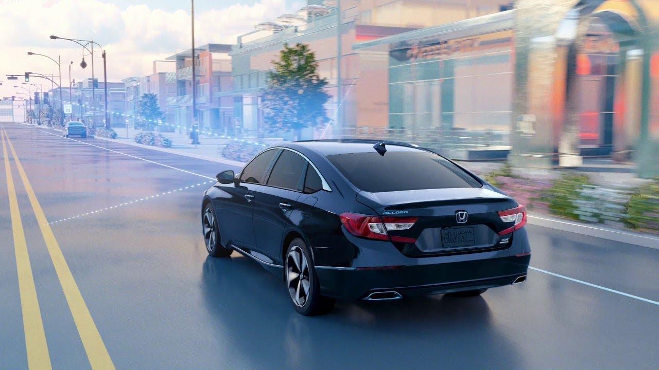 تجربة عملية لانظمة الرادار ومراقبة الطريق والامان (Honda Sensing)  في سيارة هوندا اكورد 2020