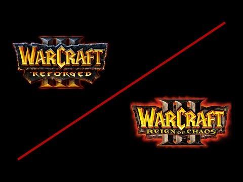Warcraft 3 Original Vs Reforged Trailer Graphics Comparison