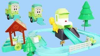 變形警車珀利的環保車玩具套裝  POLI  Garbage Truck Playset