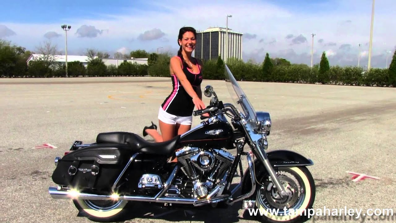 Used 2001 harley davidson flhrc road king classic motorcycle for sale youtube