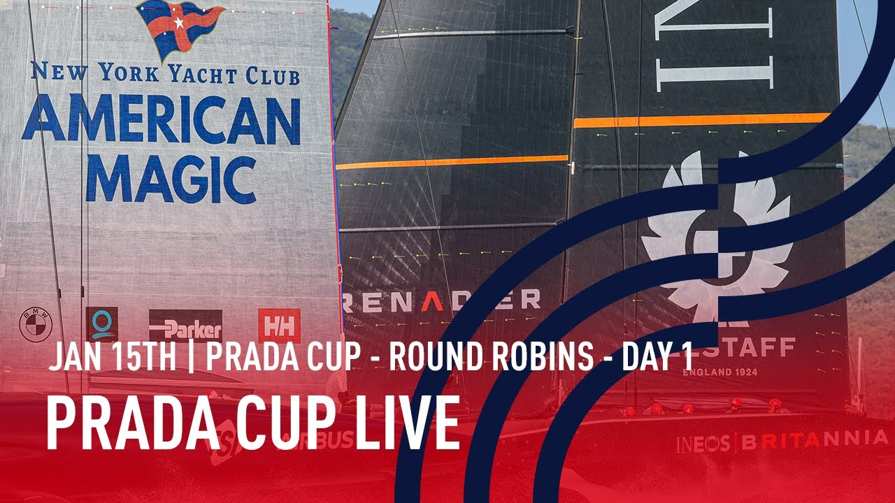 PRADA Cup Day 1 | Full Race Replay | PRADA Cup Round Robins