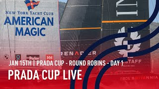 PRADA Cup Day 1 | Full Race Replay | PRADA Cup Round Robins