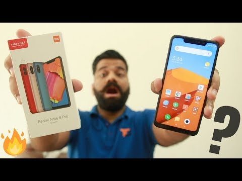 Xiaomi Redmi Note 6 Pro Unboxing & First Look - Upgrade???