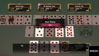 Yakuza 0 - BlackJack/ Poker Minigames