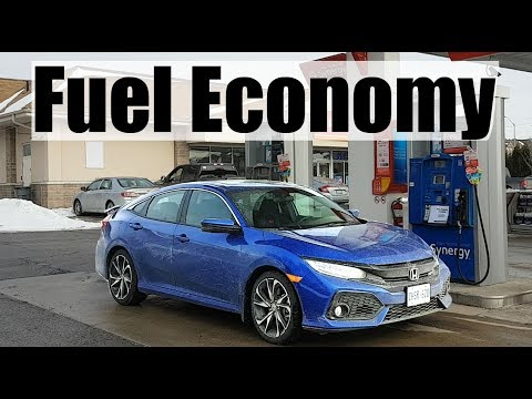 2019 Honda Civic Si - Fuel Economy MPG Review + Fill Up Costs