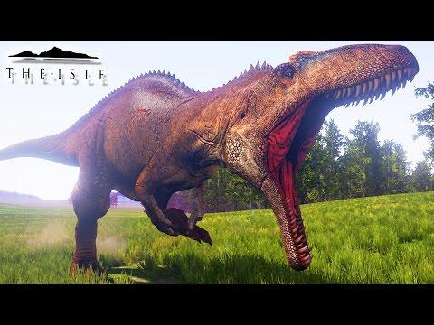 The Isle - Caçando Com Acrocanthosaurus, Grande Fuga! | Dinossauros Caçando (#92) (Gameplay/PT-BR)