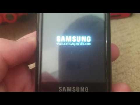 Samsung i8510 on/off