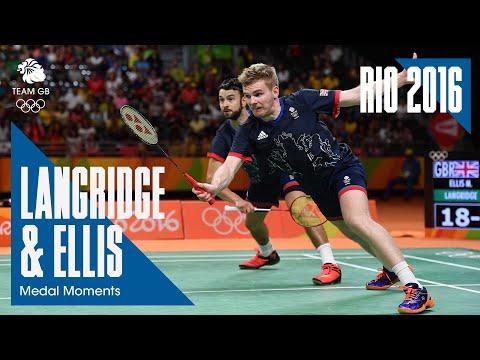 Rio 2016 Medal Moments: Chris Langridge and Marcus Ellis - Bronze | Badminton