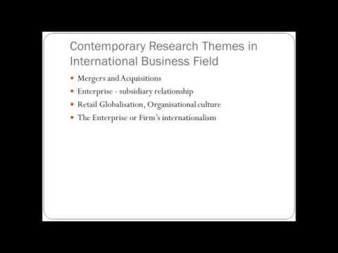 international business thesis ideas
