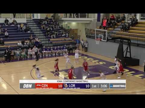 Central College Dutch vs Loras College Duhawks -Women's Basketball