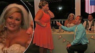 У молодожёнов украли праздник: гость-эгоист использовал чужую свадьбу, чтобы сделать предложение