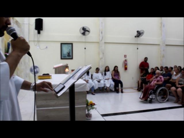 Homenagem às mães na comunidade Santa Rita de Cássia