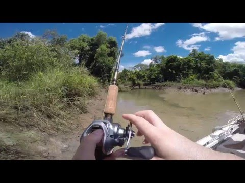 Arnhem Land Barra Fishing April 2016