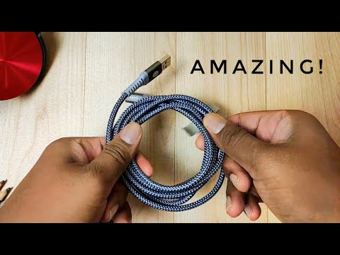 The Best Fast Charging Type C Cable In India! ⚡| Ausmo Type C Cable Unboxing & Review