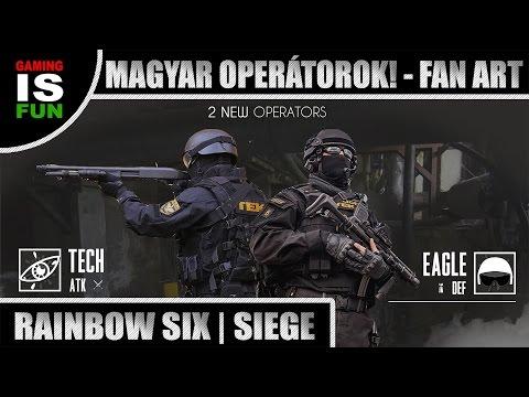 MAGYAR OPERÁTOROK! - FAN ART | Rainbow Six: Siege