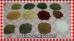 Tuscan Style Seasoning Blend ~ Tuscan Seasoning Recipe ~  Homemade Spice Blends ~ Noreen's Kitchen