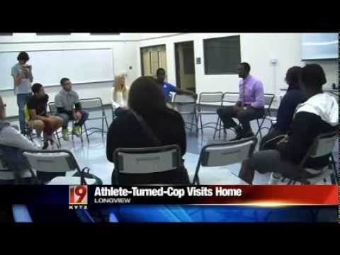 Pine Tree alum visits East Texas high school students   KYTX CBS 19 Tyler Longview News Weather Spor