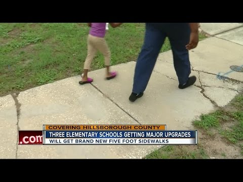Three Hillsborough Schools set to get new sidewalks to reduce crashes