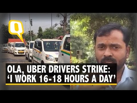 Ola, Uber Drivers Strike for Higher Pay, Commuters Bear Brunt | The Quint