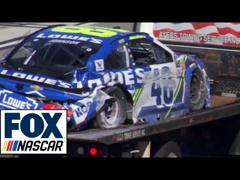 """Radioactive: Pocono - """"(Expletive) brakes failed.""""   NASCAR RACE HUB"""
