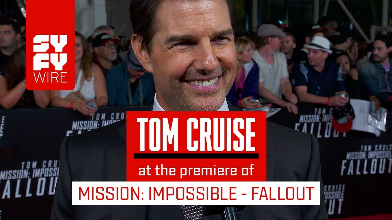 Mission: Impossible - Fallout: Tom Cruise, Angela Bassett & Cast On  High-Risk Stunts   SYFY WIRE