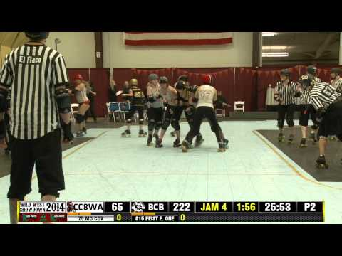 Cherry City Derby Girls vs Boulder County Bombers