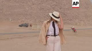 U.S. First Lady visits Egypt