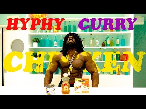 Cooking w/ Jamaica Muscle - HYPHY CURRY CHICKEN (Minute Meal)