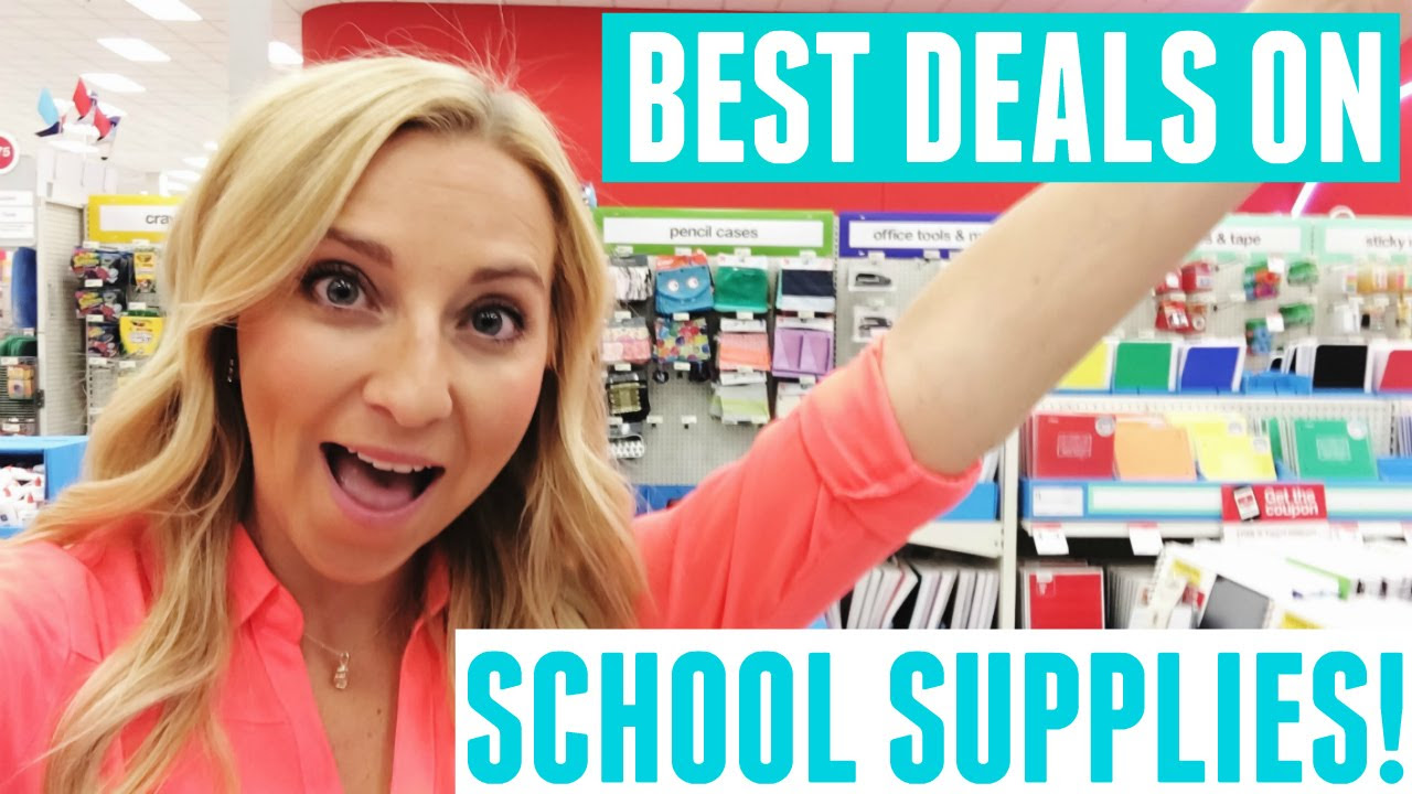 Back to School Shopping: Save Money on School Supplies at Target!