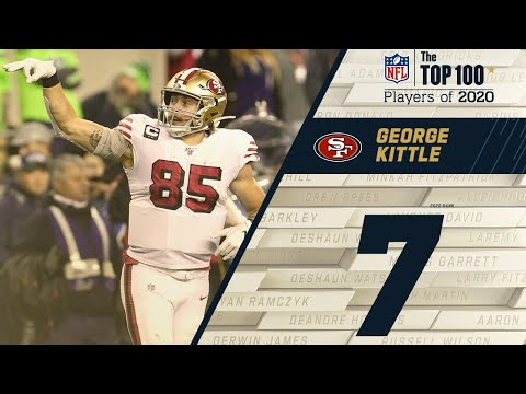 #7: George Kittle (TE, 49ers) | Top 100 NFL Players of 2020