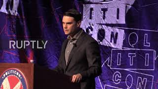 USA: Ben Shapiro accuses the left of using 'mob politics'