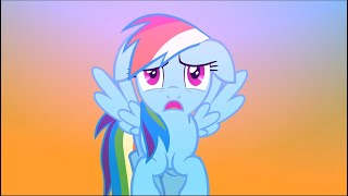 Repeat youtube video Twilight vs. Rainbow Dash Random Fight Scene [Animation]