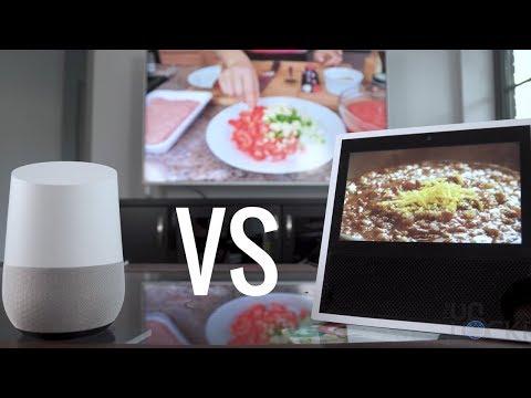 Can the Google Home w/ a Chromecast Keep Up w/ the Echo Show?