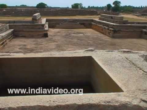 Hampi monuments at Karnataka