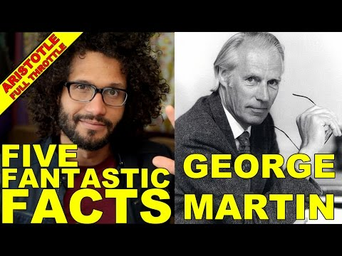 THE BEATLES - 5 FACTS ABOUT GEORGE MARTIN!