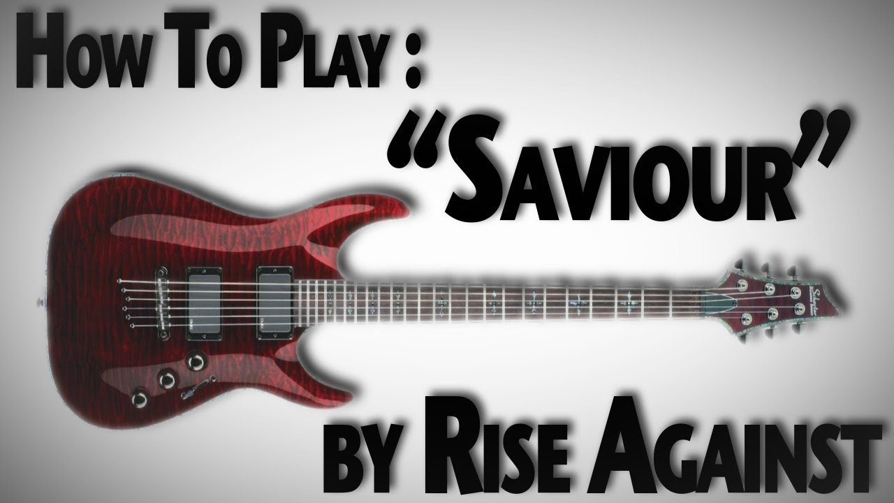 how to play savior on guitar