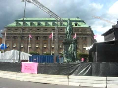 History Lesson in Stockholm on Gustaf Adolph