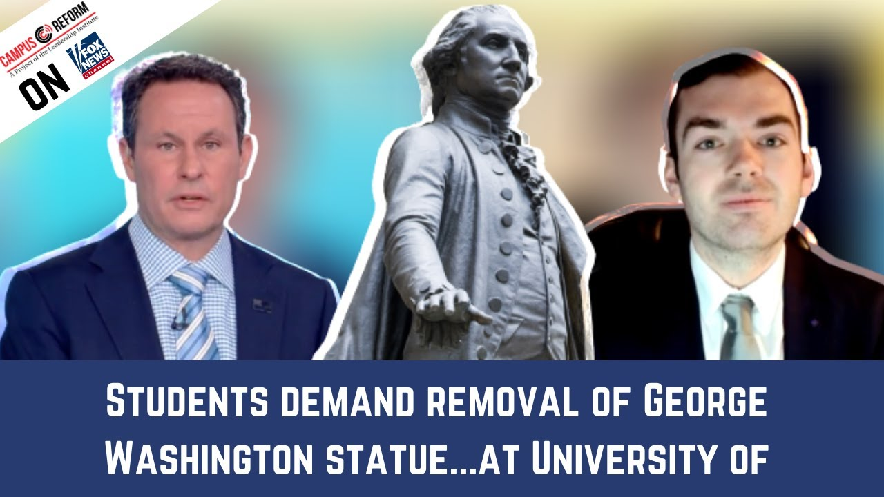 Students Demand Removal of Washington Statue at Univ. of Washington: Justin Brascher on Fox News
