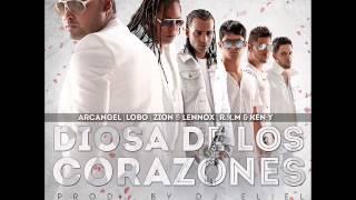 Diosa de los Corazones - Arcangel ft Rakim & Ken-y ft Zion y Lennox ft Lobo Instrumental Original