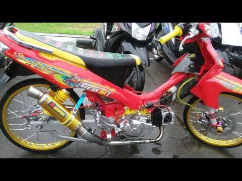 Modifikasi Yamaha Vega R Street Racing Warna Merah Youtube