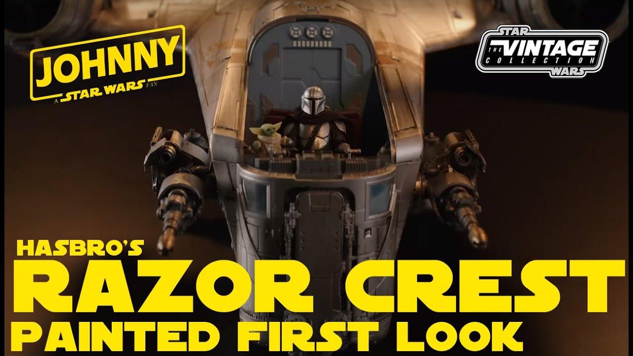 The Mandalorian: Hasbro anuncia a Razor Crest