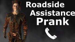 Cicero Calls Roadside Assistance - Skyrim Prank Call