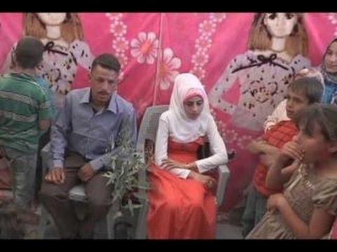 زواج الأطفال يتضاعف بين اللاجئات السوريات في الأردن ...