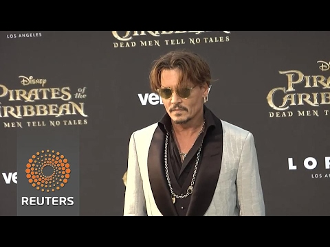 Movie piracy a hot topic at Pirates of the Caribbean premiere