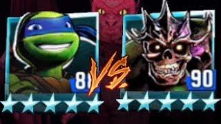 Leonardo VS Undead Shredder - Teenage Mutant Ninja Turtles Legends