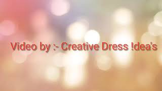 Beautiful dress designs Sketch || Dress designs || ||Video by Creative Dress !dea's||