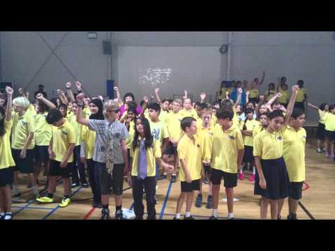 Compass School Doha ,  SING for Gary Barlow
