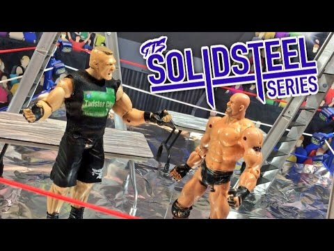 GTS WRESTLING: SOLID STEEL SERIES! WWE Survivor Series Action Figure Animation Event Parody PPV!